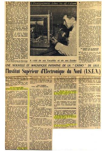 Souvenirs-1956-ISEN-Lille